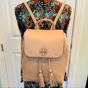 Taylor backpack Tory Burch Devon sand 55460